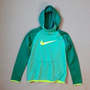 Nike DryFit Hoodie/ shades of green Youth …